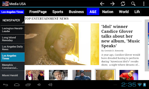 Media USA  (US Newspapers)- screenshot thumbnail