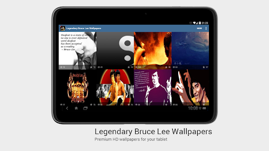 Legendary Bruce Lee Wallpapers - screenshot thumbnail