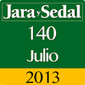 Jara y Sedal 140 Julio 2013 icon