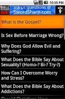 Screenshot of Bible Answers Unbiased & UNCUT