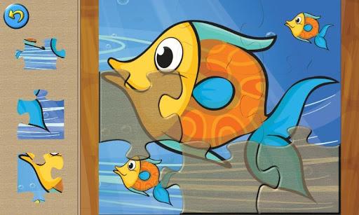 【免費家庭片App】Animal Puzzles: Under the Sea-APP點子