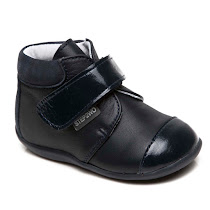 Step2wo Preamble - Leather Velcro Bootie BOOTS