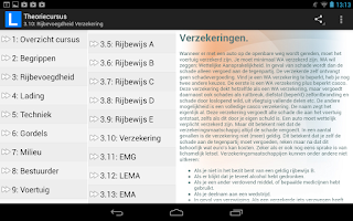 Screenshot of Theoriecursus auto
