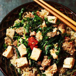Kale Mabu Tofu.