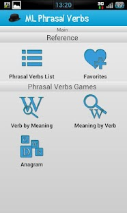 English Phrasal Verbs- screenshot thumbnail