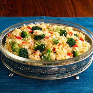 Zesty Broccoli Cheddar Rice.