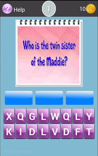 The Twins Liv y Maddie Trivia screenshot
