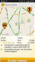 Screenshot of mTaxi - Taxi Driver app