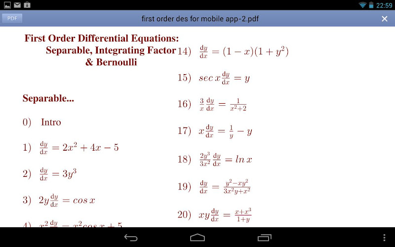 mit opencourseware ordinary differential equations First-order ordinary differential equations before we get involved trying to understand partial differential equations ordinary differential equations 5 solution.
