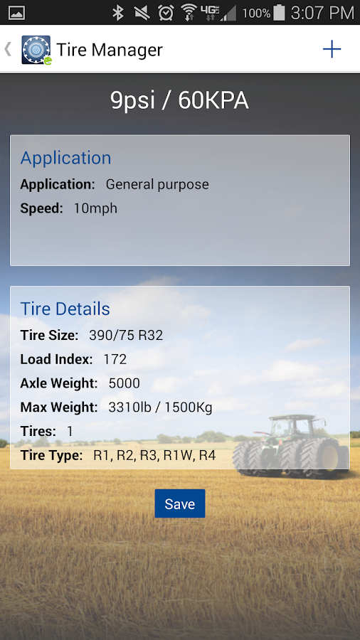 Tire Manager- screenshot