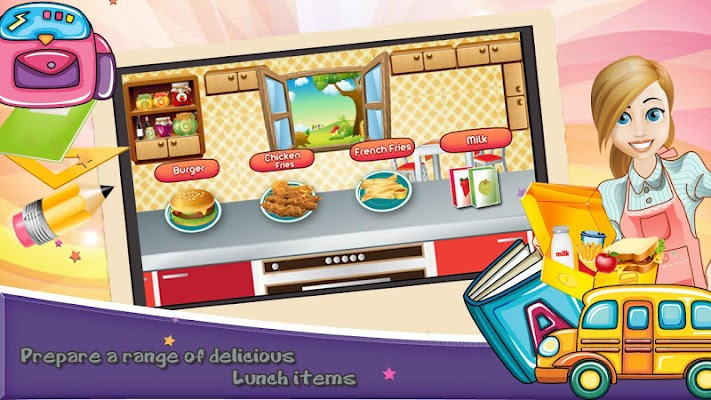 Lunch Box Maker - screenshot