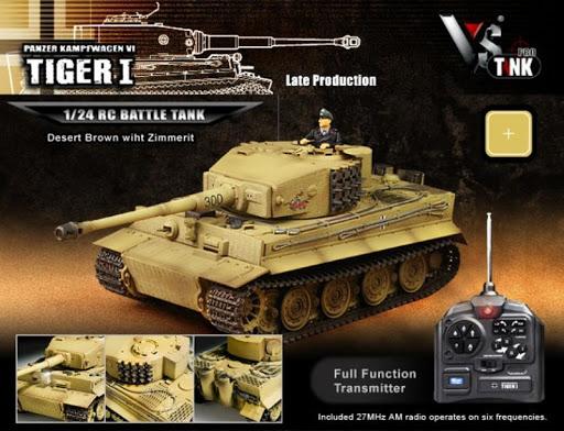 真正的遙控坦克