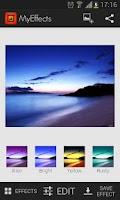 Screenshot of MyEffects - Photo Editor