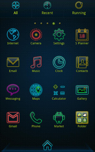 Colorful life golauncher theme v1.0