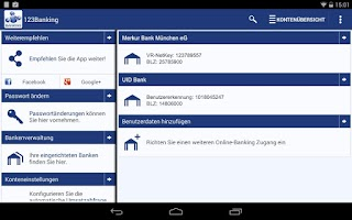 Screenshot of 123Banking
