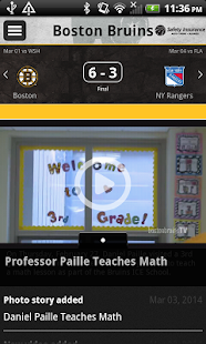 Boston Bruins Official App - screenshot thumbnail