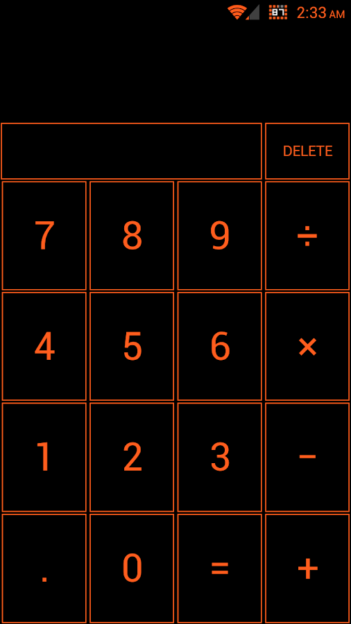 Tangerine Dream CM10.1 Theme - screenshot