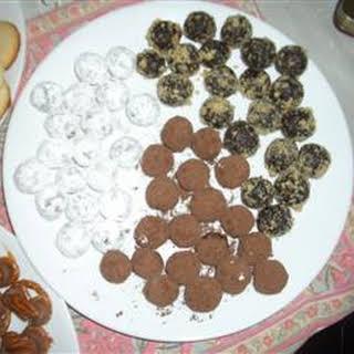 Chocolate Walnut Rum Balls.