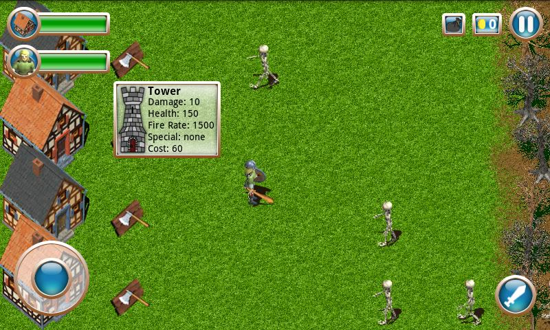 Action Defense FREE - screenshot