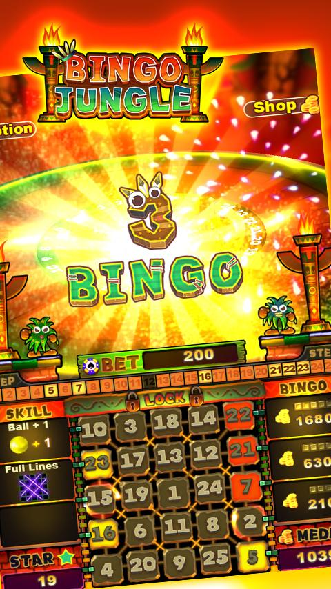 Bingo Jungle- screenshot