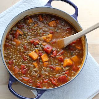 Easy Vegan Lentil Soup