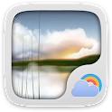 Restful Weather Widget Theme