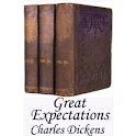 Great Expectations-Book logo