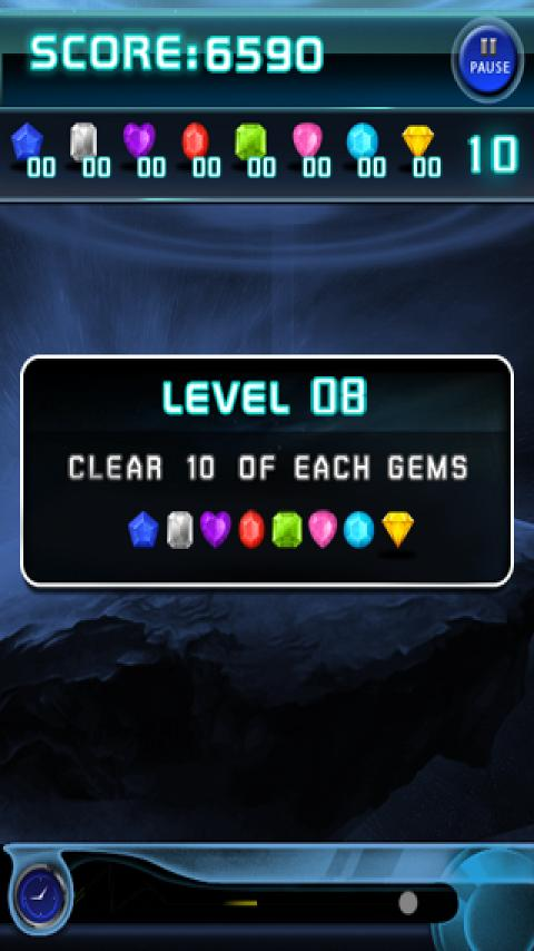 Jewels Space - screenshot