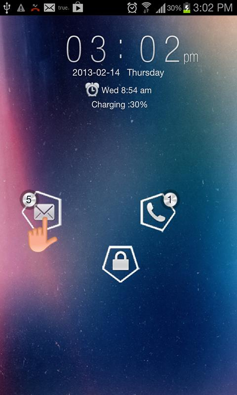 Galaxy Art Go Locker - screenshot