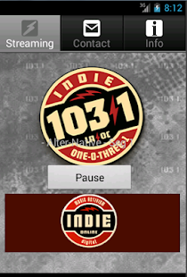 Indie 103.1- screenshot thumbnail