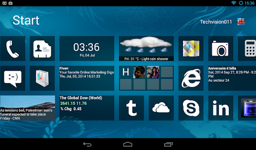 Home8+like Windows8 Windows 8 - screenshot thumbnail