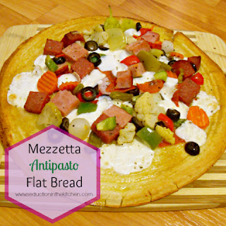 Mezzetta Antipasto Flatbread #Sponsored