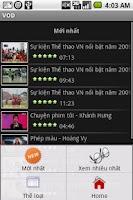 Screenshot of Metfone MobileTV