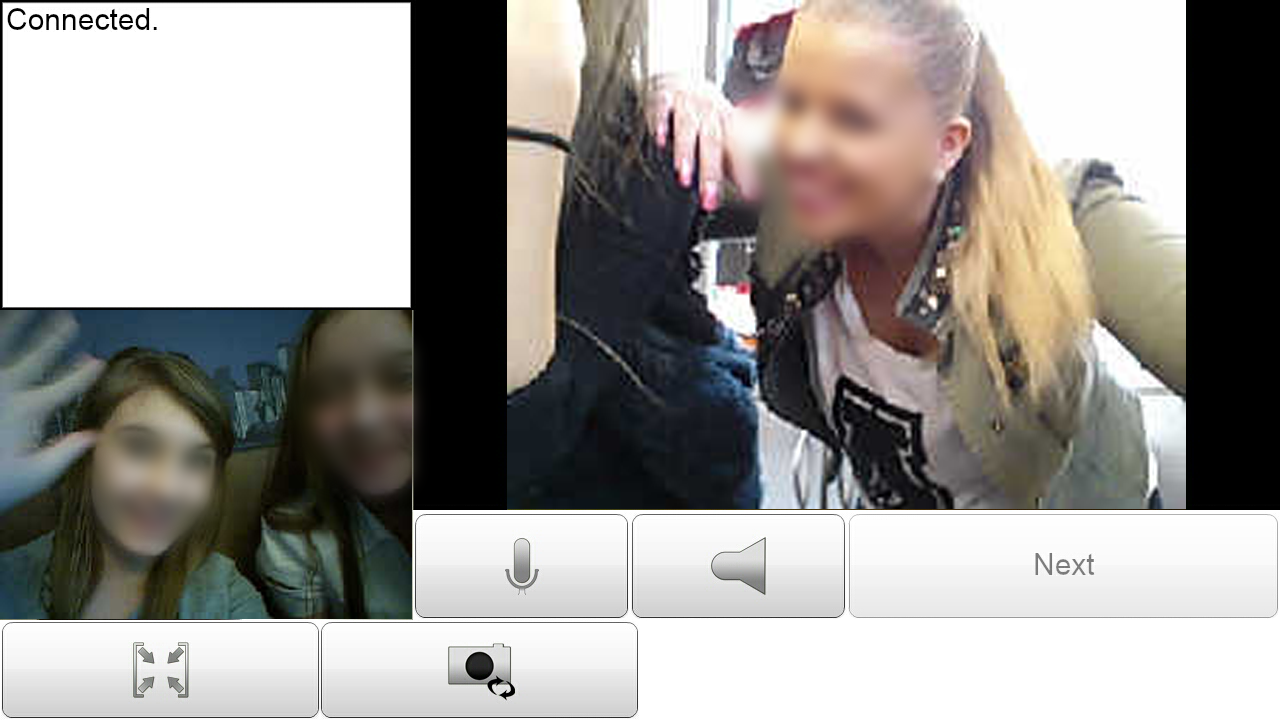 Chat video - screenshot