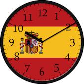 Analog Clock Spain