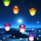 孔明燈祈福動態桌布 icon