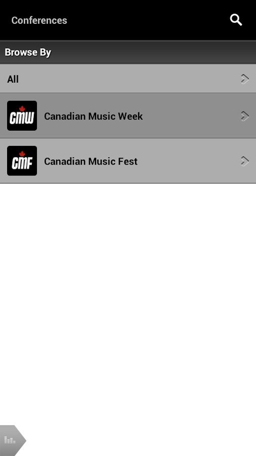 Canadian Music Week - screenshot