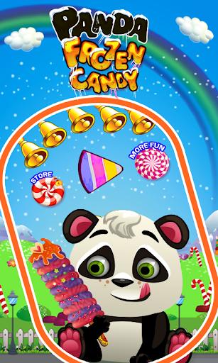 熊猫冷冻糖果-冰流行