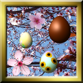 Easter in Bloom Live Wallpaper