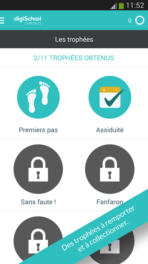 Concours commerce 2018- screenshot