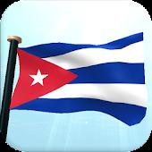 Cuba Flag 3D Free Wallpaper