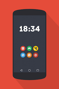 NAXOS FLAT ROUND - ICON PACK Screenshot 9