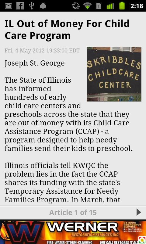 KWQC News - screenshot