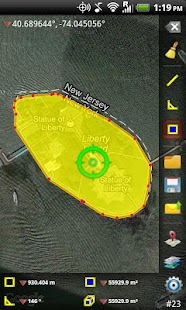 GPS Area Measure - screenshot thumbnail