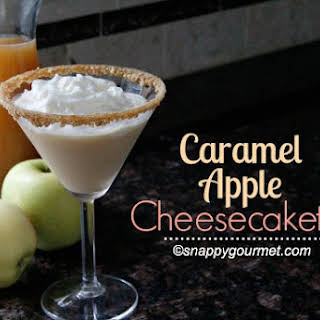 Caramel Apple Cheesecaketini.
