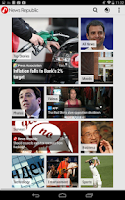 Screenshot of News Republic for Tablet
