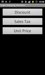 Super Shopping Calculator screenshot 0