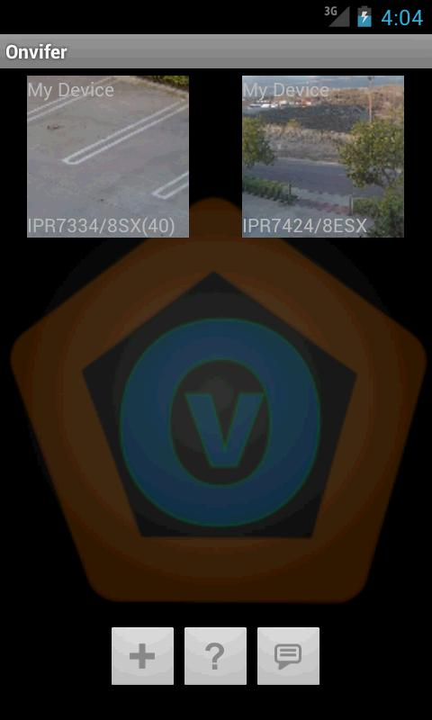 ONVIF IP Camera Monitor- screenshot