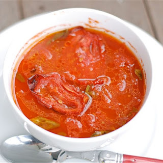 Roasted Tomato & Basil Soup.