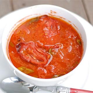 Roasted Tomato & Basil Soup Recipe